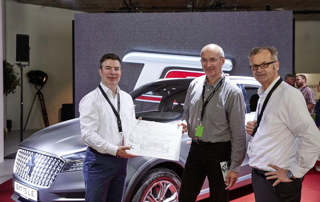 ورود موفق بورگوارد BX7 TS به بازار آلمان - شرکت کیان موتور وارنا